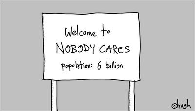 Nobdoy Cares