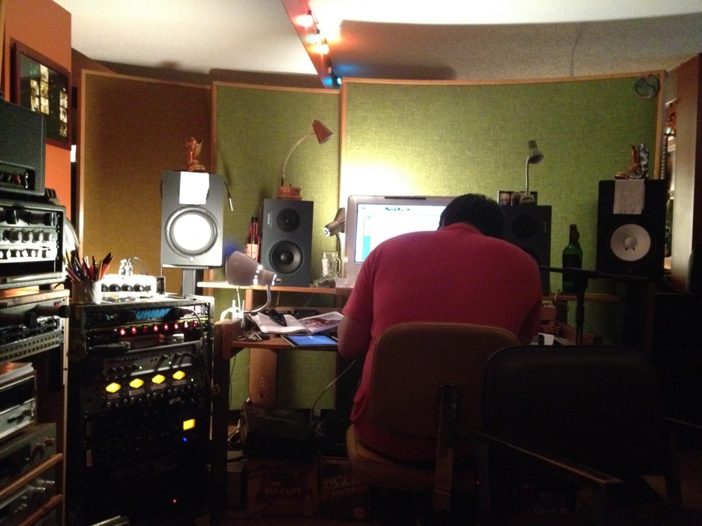 recording audiobook - eric